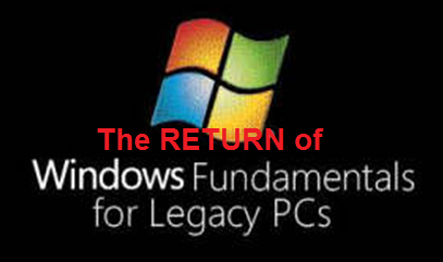 Microsoft windows fundamentals for legacy pcs (winflp).