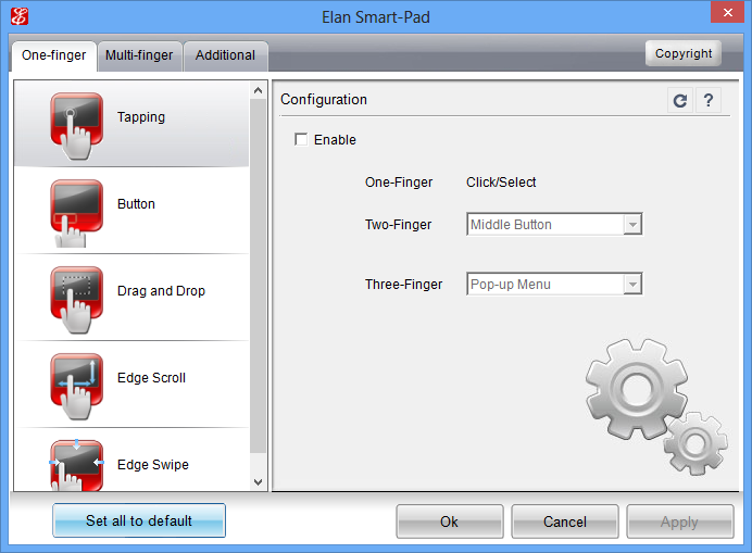 free download touchpad driver for windows 7
