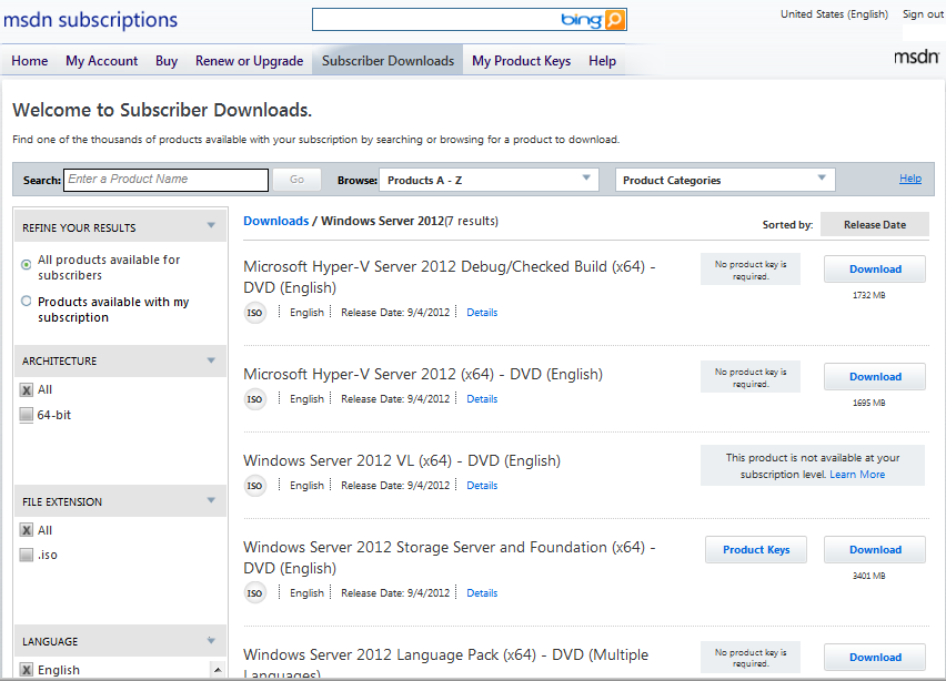 DOWNLOAD: Windows Server 2012 RTM hits TechNet/MSDN | Kurt