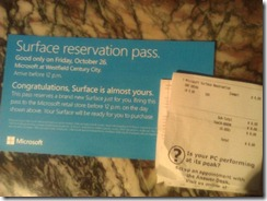 SurfaceReservation