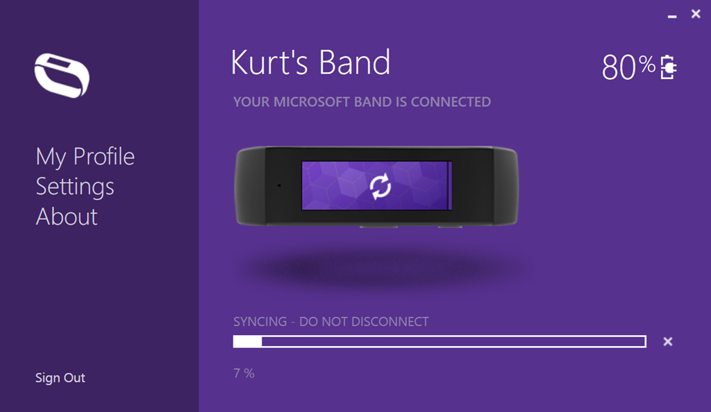 DOWNLOAD: Microsoft Band Sync app for Windows | Kurt