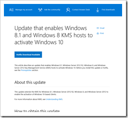 Howto activate windows 10 using key management service kms as with any other release of windows or windows server the kms service host must be patched to support the new os instructions for doing so for windows 10 ccuart Choice Image