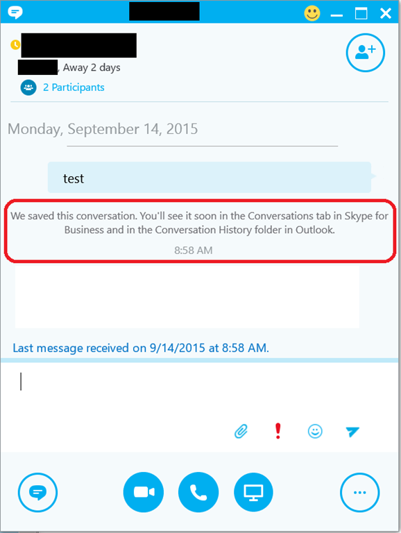 HOWTO: Manually save a conversation in Skype for Business | Kurt ...