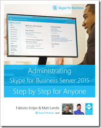 Download free ebook administrating skype for business server download free ebook administrating skype for business server 2015 step by step for anyone fandeluxe Epub