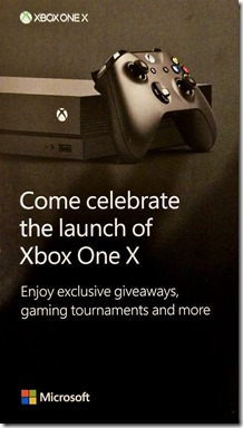Xbox One X Launch Flyer 1a