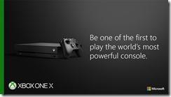 Xbox One X Launch Flyer 1c